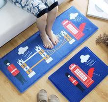 Free shipping Restaurant kitchen Bathroom absorbent Non-slip mats thick rugs Ground mat Small carpet