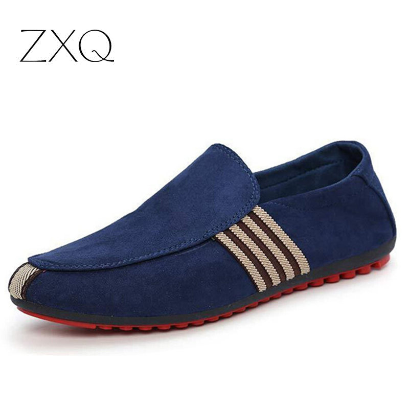2017 Fashion Slip-On Flat Breathable Casual Male Shoes, Striped Solid Men Summer Fashion Shoes LSZ329<br><br>Aliexpress