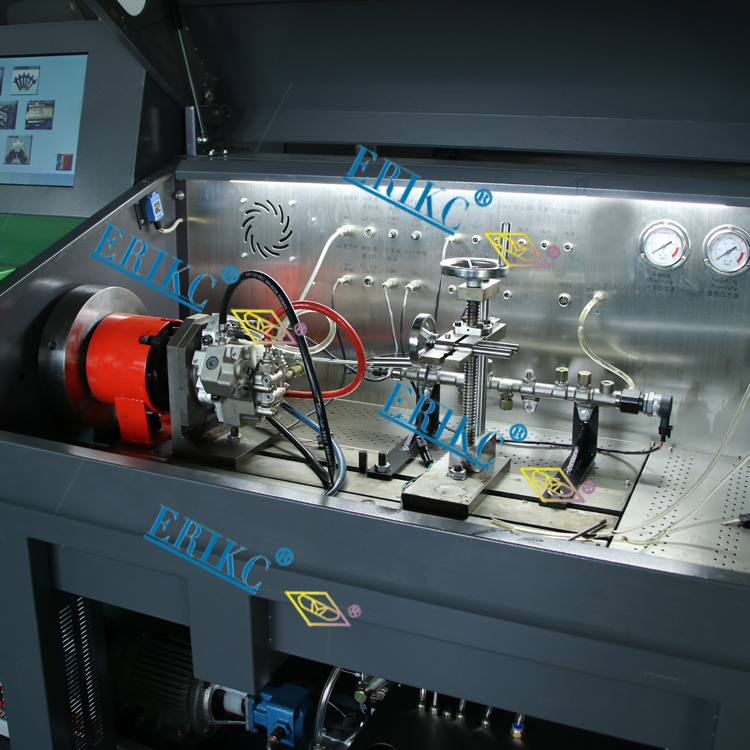 ERIKC auto fuel injector test bench,LSL-300 vehicle testing bench (6)