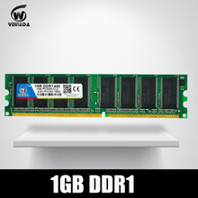 DDR1 2GB 2X1GB DDR 1 gb pc3200 ddr400 400MHz 184Pin Desktop ddr memory CL3 DIMM RAM 2G(China)