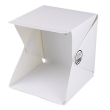 Portable Mini Photo Studio Box Photography Backdrop built-in Light Photo Box