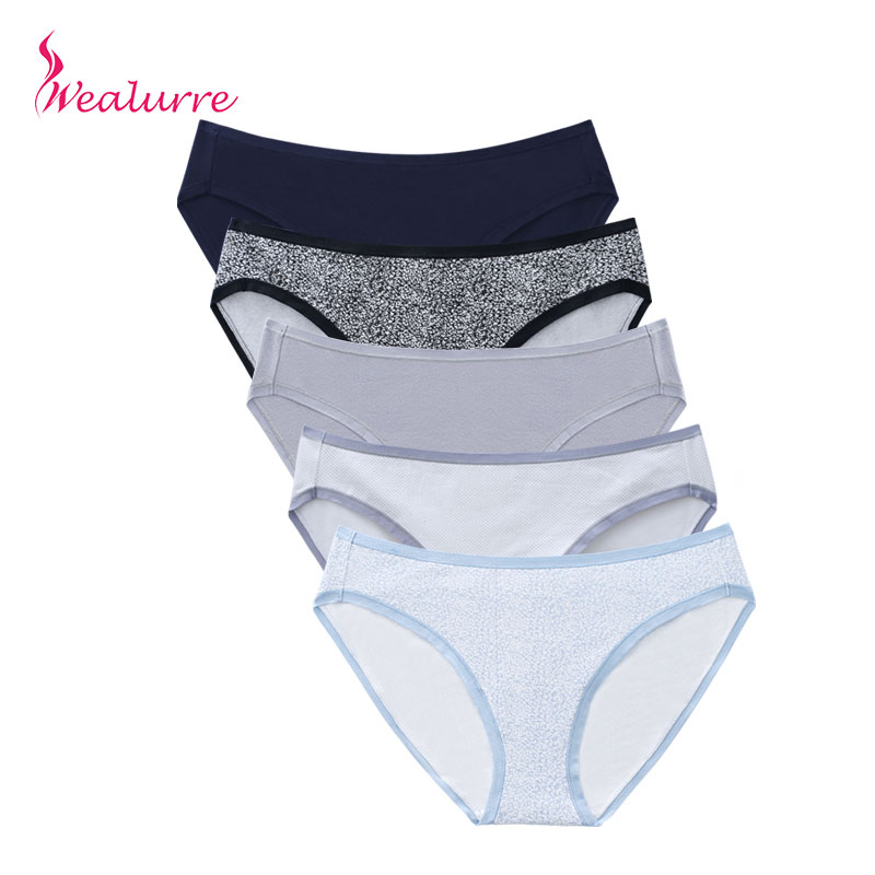 Wealurre 15 Colors Seamless Ladies Underwear Women Panties Cotton Spandex Solid Briefs Low Waist Stripe Sexy Female Underpants