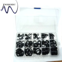 Free shipping 201PCS Hot NBR O-ring 15 Sizes High quality Metric 70 Nitrile Rubber O Ring Set Assortment Kit Auto Oring(China)