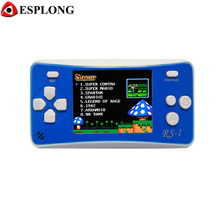 RS-1 Handheld Game Player Child Classic Game Machine 2.5 inch LCD Portable Video Game Console with 76 Games for 8bit NES Games(China)