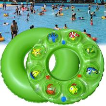 2017 New Air Inflatable Circle Children Swimming Float Safety Swim Ring Bath Inflatable Circle Gift  #E0