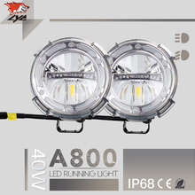 LYC Low/High Beam 1800LM 1 PCS For lighted Ford Emblem Car Lights Motorcycle Led Headlight Extra IP68 Led