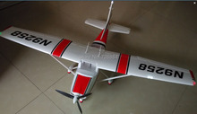 RC plane toy Cessna 182 1410mm wingspan 6ch with flaps, led light epo PNP