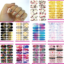 10pcs Set New Fashion Water Transfer Nails Art Sticker Fresh Green Lemon Leaf Manicure Decor Decals Wraps Foil Sticker for Nail