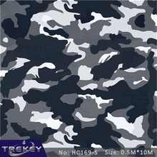 0.5M*10M Camouflage Water Transfer Printing Hydrographics Film HC169-S, Hidrografik Military,wtp, Photo Transfer(China)