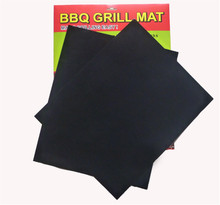 BBQ tools Outdoor barbecue dedicated grill mat High temperature resistance Magic Miracle Grill Mat kitchen Non stick Oven pad