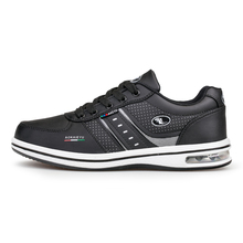 Men Shoes Sport Leather Mens Trainers Air Shoes Spring/Autumn Men Sport Shoes Brand Black/White Men Professional Sport Shoes