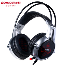 Somic E95X 7.1 Vibration Gaming Headphones 5.2 Audio Encoding Multi-Channel Noise Isolating Super Bass LED Mic Stereo Headset