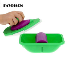 FARISON 2017 HOT! Point And Paint Roller and Tray Set Household Painting Brush Decorative Tool APJ(China)