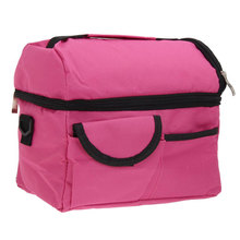 8L Square Thermal Bag Women Men Lunch Bag Cooler Beam Port Lunch Box Lady Storage Bag Children Kids Lunch Bag Insulation Package(China)