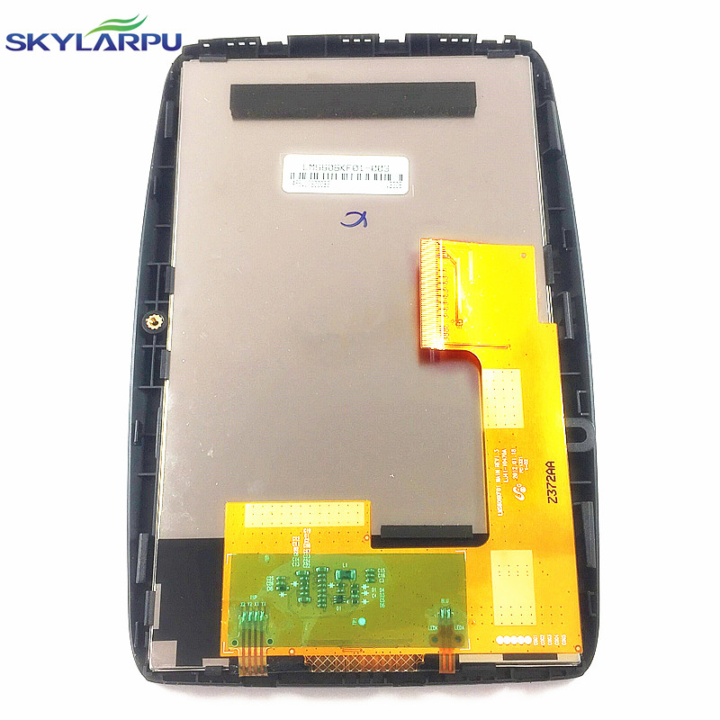 skylarpu 6 inch LCD screen for TomTom Via 620 GPS display screen with touch screen digitizer panel Repair replacement<br>