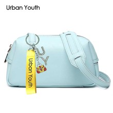 Urban Youth 2017 Hot Shoulder Bags Leather Small Bag Fashion Brand Women Handbag Clutches Purse Women Messenger Bags Crossbody
