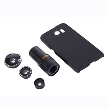 Mobile Phone Lens for Samsung S5 S6 S6Edge S6Edge plus NOTE3/4/5 M4 9X Telescope Zoom Lens Fisheye Camera Lens Telephoto Lenses