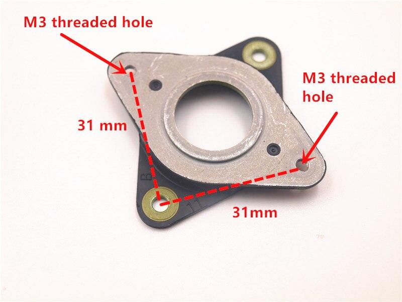Ensemble de 5 pour imprimantes 3D Nema 17 axes Pas à Pas Moteur 2 mm Anti Vibration PTFE Amortisseurs
