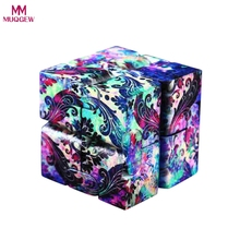 Buy MUQGEW Toys Lightning Infinite Decompression Luxury EDC Infinity Cube Mini Stress Relief Fidget Anti Anxiety Stress Funny for $3.50 in AliExpress store
