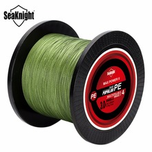 SeaKnight Tri-Poseidon Series 1000M 4 Strands Braided Fishing Line 8-60LB Japan Material Multifilament PE Line for Carp Fishing(China)