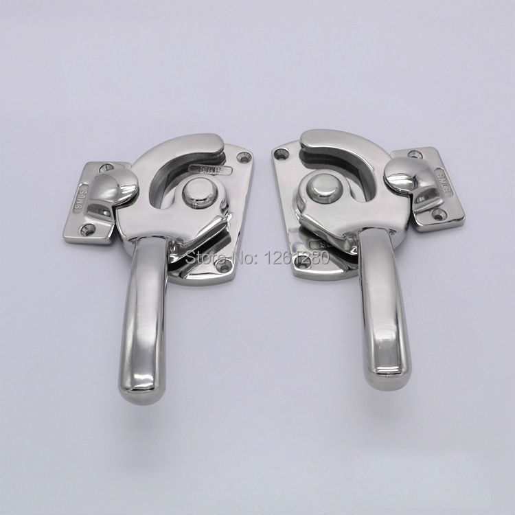 free shipping Freezer handle oven door hinge Cold storage Industrial truck latch hardware pull cabinet closed tightly knob part<br>