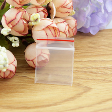 1000pcs/lot 2x2.8cm Thicken Small PE Ziplock bag -clear plastic pouches zipper reusable, gift/jewelry packaging pouch ploy bag
