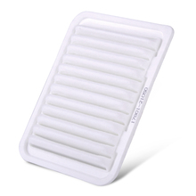 DWCX Car White Engine Cabin Air Filter 17801-21050 VA5655 A25655 AF4015 for Toyota Corolla Matrix Yaris Pontiac Vibe Scion XD(China)