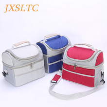 Buy JSXLTC Women Handbag Oxford Thermal Insulation Cooler Lunch Bag Men Food Lunch Picnic Cooler Bag Insulated Storage Container for $13.22 in AliExpress store