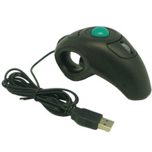 New Mouse 2.4GHz wired USB handheld mouse finger using optical track ball 160829 Drop Shipping(China)