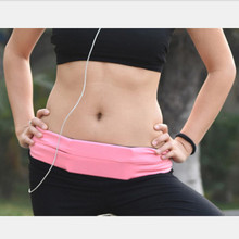 Universal Waterproof Running Sport Waist Stretch Belt Nylon Pouch Mobile Phone Hold for iPhone 6s 6 5s 5 Samsung HTC LG phoneBag
