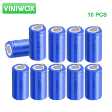 New 1800mAh 1.2V SC Ni-CD Rechargeable Battery DIY 12V 14.4V Battery Packs Subc NiCd Battery Cells Accumulator Pack 10PCS