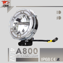 LYC Korea Chips Hot Brand LYC Truck Parts High Power Led Car Headlight For Jeep Wrangler Led Work Light Truck Ford 1PCS IP68
