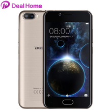 DOOGEE Shoot 2 Dual Back lens MTK6580 2GB RAM 16GB ROM Front Fingerprint 5.0 Inch HD Screen Android 7.0 3G WCDMA Mobile Phone