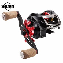 SeaKnight ELF II 1200HG Casting Fishing Reel 13+1BB 7.2:1 Max Drag 7.5kg Softwood Knob Handle Baitcasting Reel Fishing Wheel