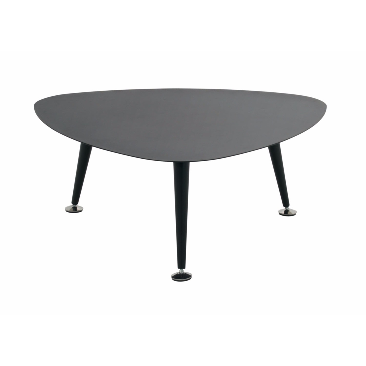 Offex Trilateral Accent Table 29, Black (4)
