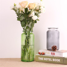 Glass Home Decor Vase Flower Plant Stand Hanging Vase Hydroponic Container Office Wedding Decor Vases