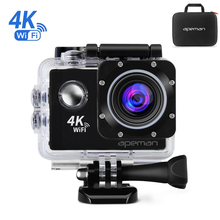 Original 4K 24fps WIFI Action 20MP Camera 2.0 170D Go Waterproof Pro Notavek 96660 Sport Cam 2K 30fps 1080P Video Car Dash DVR