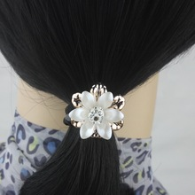 isnice 5pcs/lot Flower Women hair accessories 2016 Fashion barrettes Women Gum for Hair Ornaments