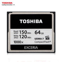 Toshiba 32GB 64GB 128GB Hi-Speed CF Memory Card 1000X High speed Compact Flash Applicable Digital Cameras/Camcorders - AE-3CBrand Store store
