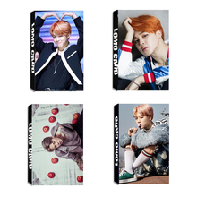 Youpop KPOP BTS Bangtan Boys Album JIMIN LOMO Cards K-POP New Fashion Self Made Paper Photo Card HD Photocard LK326