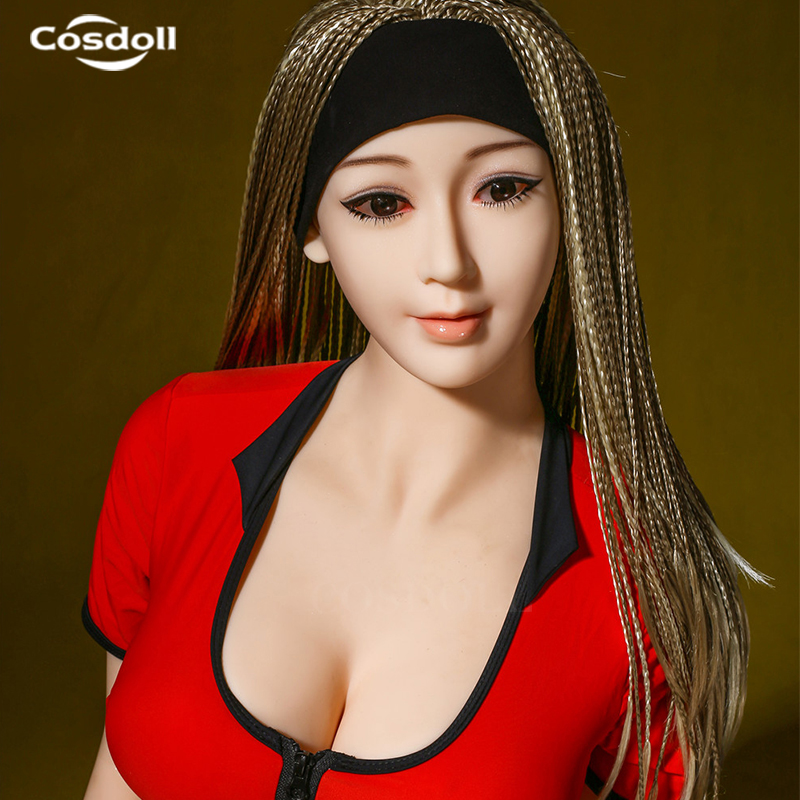Cosdoll 158cm Realistic Big Breasts Silicone Sex Doll with Real Feeling Adult Sex Toys for Man Masturbation Free Shipping