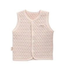 1 Pcs Baby Warm Vest Newborn Boys Girls 100% Cotton Waistcoat Toddler Infant Outwear Clothing Children Vest Jacket Kids Clothes