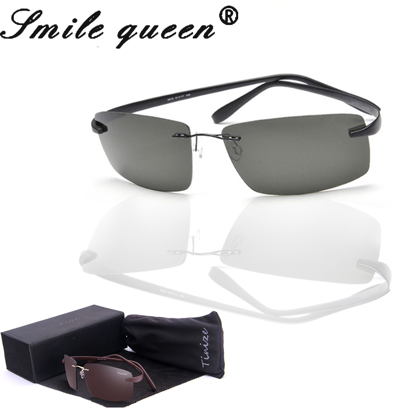 With Packing 2016 New Tinize Driving Polarized Sunglasses Men Titanium Eyeglasses Frame Eyeglasses Women Lunette De Soleil<br><br>Aliexpress