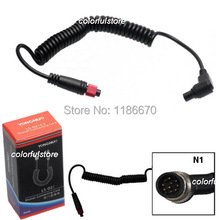 FreeShip Yongnuo Wireless Remote Shutter Release Cable N1 For Flash Trigger Receiver RF-602 RF602 Nikon D100 D200 D300 D700 D800(China)