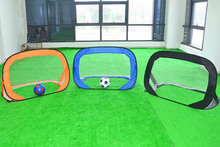 Football equipment Teenager/Kid Football Ball Training Foldable Futbol Net Goal Shooting Trainer Easy Carry Without Ball