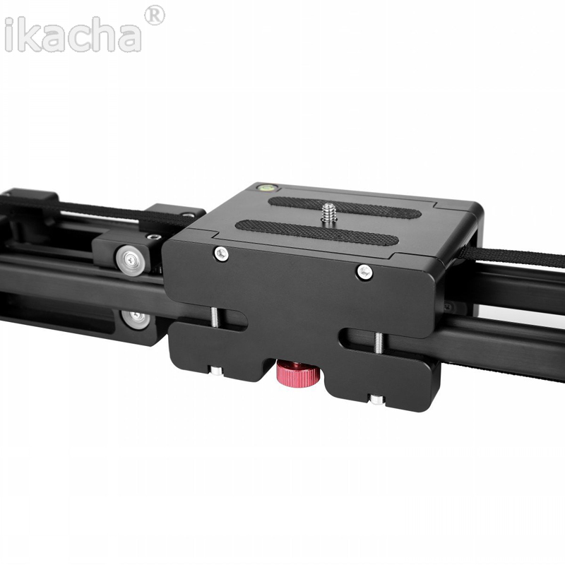 DSLR Camera Video Slider Dolly 50cm Track Rail Stabilizer 100cm Sliding Distance for Canon Nikon Sony Photo Studio Accessories (1)