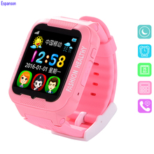 Espanson Children Smart Watch With GPS Camera Facebook Emergency Security Anti Lost SOS For ISO Android waterproof baby Watch Q3(China)