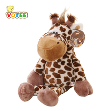 23cm 1piece big NICI giraffe toy plush, lovely stuffed animal deer doll, big birthday gift for boys VOTEE