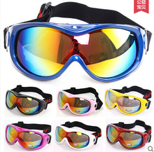 Free Shipping! POLISI P-305-WH Snowboard Motorcycle Ski Goggles Winter Sled Skate Kids Sunglasses Dirt Bike Glasses
