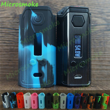 Silicone case of Think Vape Finder 250 DNA 250 Box Mod With Zinc Alloy Body And Lether Battery Sleeve environmentally friendly 2